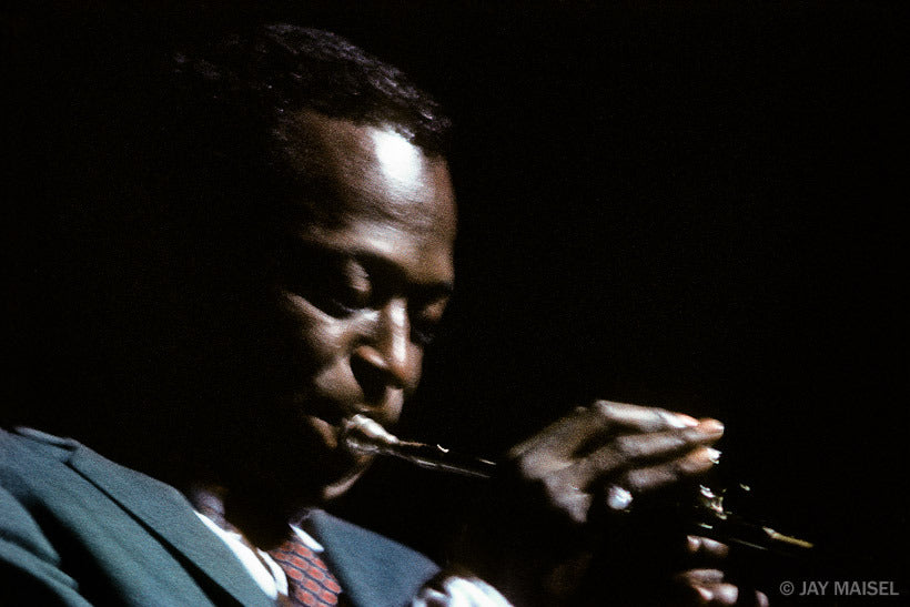 Miles Davis, Kind of Blue Album Cover Shoot