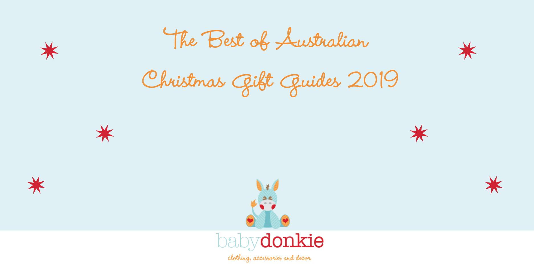 The Best of Australian Christmas Gift Guides 2019