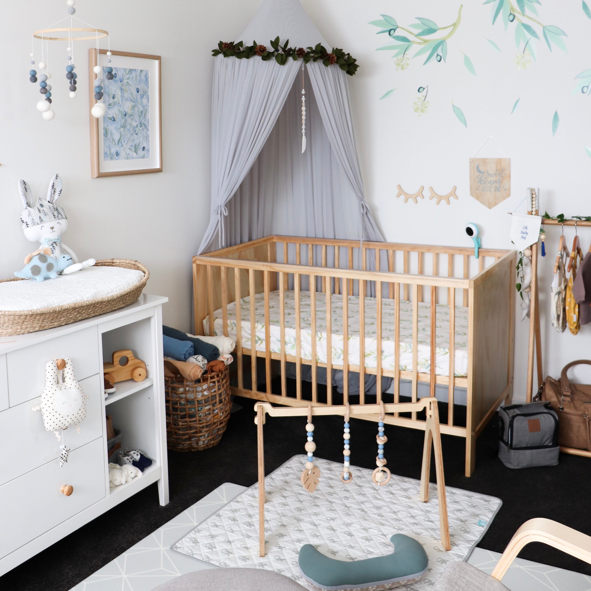Tegan's Nursery Reveal - Modern and Stylish