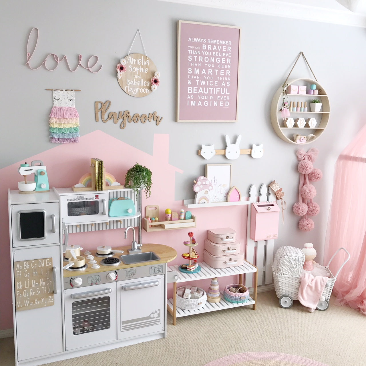 Sweet Home Styling - The Ultimate Playroom Makeover