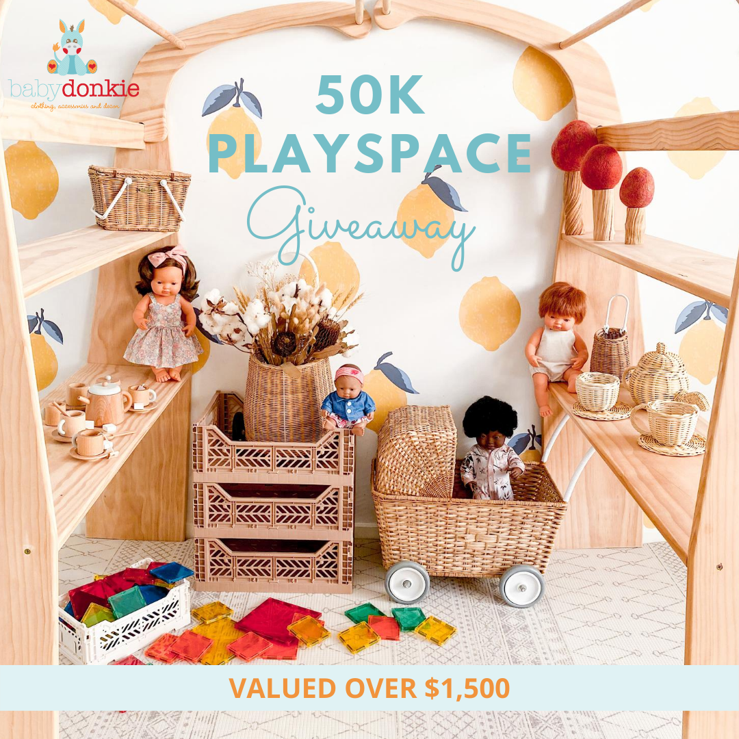 BabyDonkie Playspace giveaway