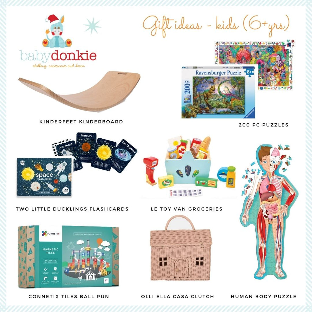 BabyDonkie Christmas gift ideas for 6yr old kids