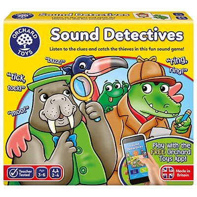 Orchard Toys - Sound Detectives Game-BabyDonkie
