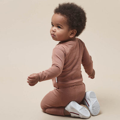 Huxbaby Organic Essentials - Ginger Rib Legging