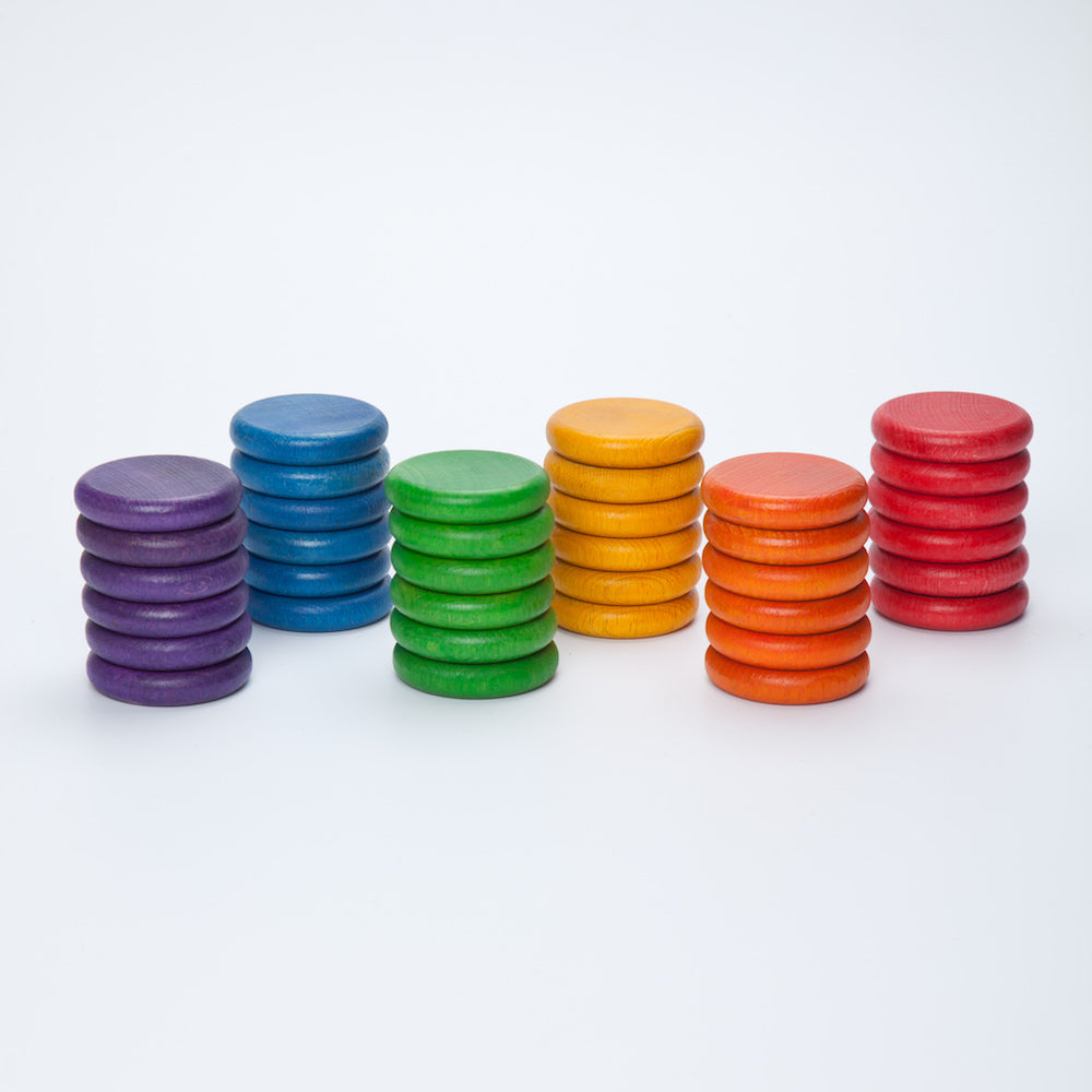 Grapat Coins 6 Colours - 36 Pieces