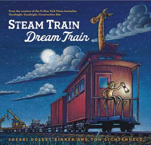 Steam Train, Dream Train by Lichtenheld and Rinker-Book-BabyDonkie