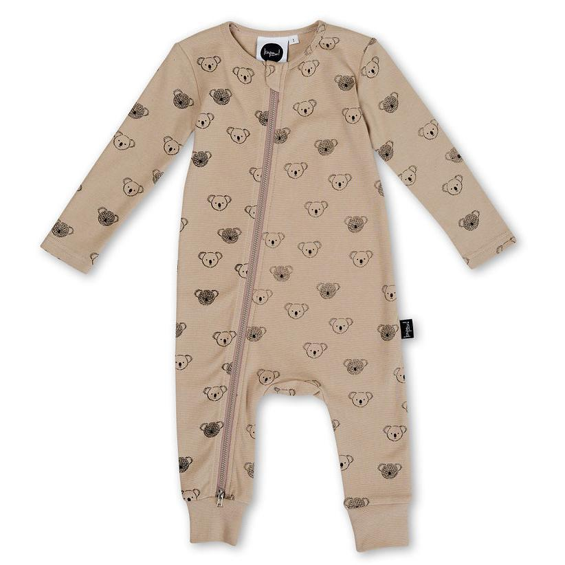 Kapow Kids Koala Zip All In One-Clothing-BabyDonkie