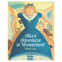 Alice's in Adventures in Wonderland Board Book By Alison Jay-Book-BabyDonkie