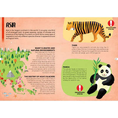 Sassi Travel Learn and Explore - Endangered Species of the Planet - 205 pcs-Puzzle-BabyDonkie