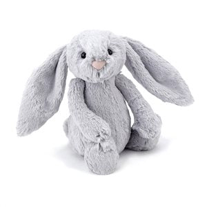 Jellycat Bashful Silver Bunny Medium-Softie-BabyDonkie