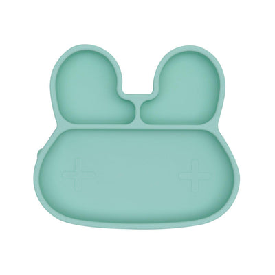 We Might Be Tiny - Bunny Stickie Plate - Mint-BabyDonkie