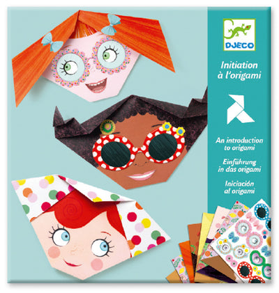 Djeco - Pretty Faces Origami-Puzzle-BabyDonkie