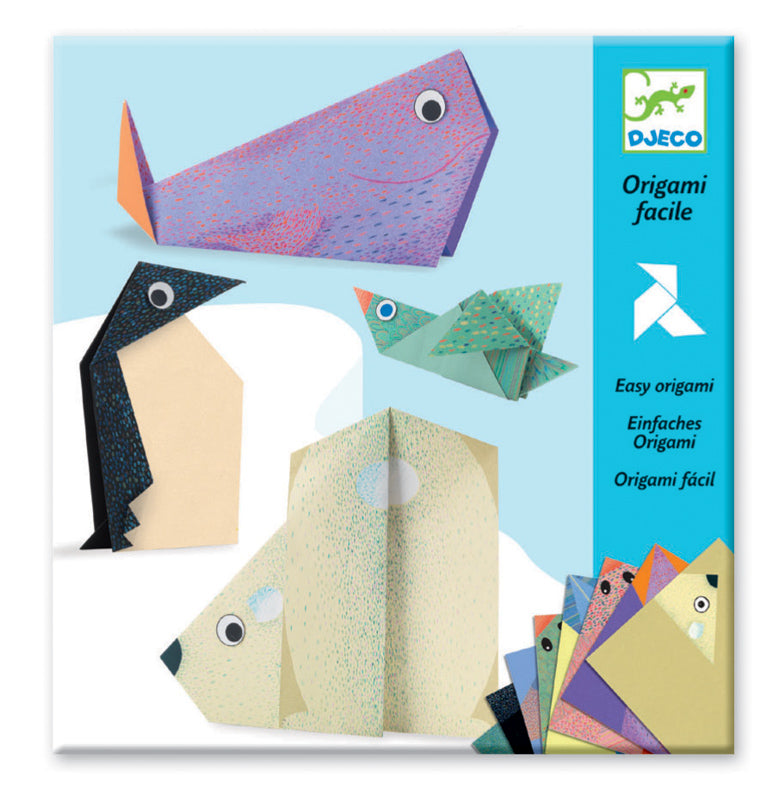 Djeco - Polar Animals Origami