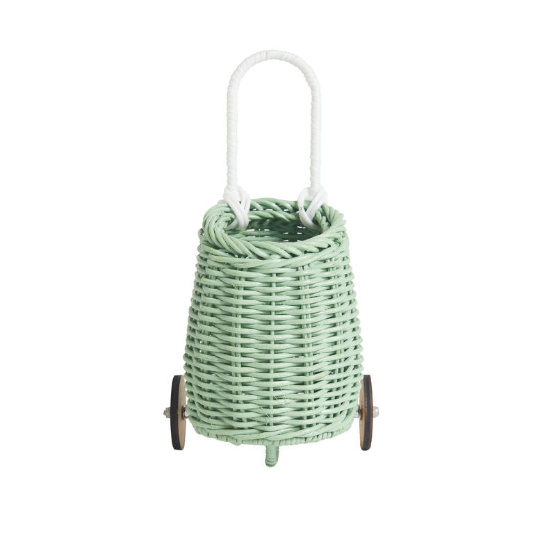 Olli Ella Doll Luggy Basket - Mint