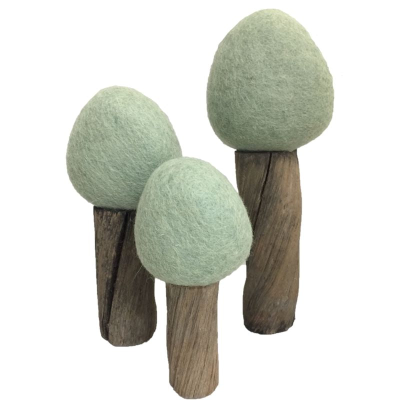 Papoose Toys - Summer Trees 3pc