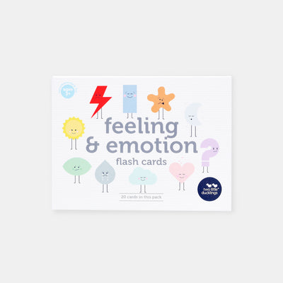 Two Little Ducklings Feeling and Emotion Flash Cards-BabyDonkie