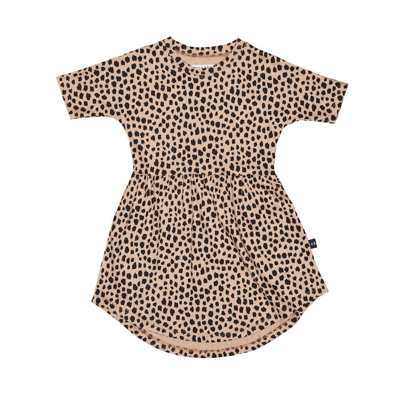 Huxbaby Leopard Swirl Dress-Clothing-BabyDonkie