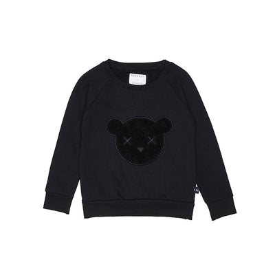 Huxbaby Unbearable Sweatshirt - Black-Clothing-BabyDonkie