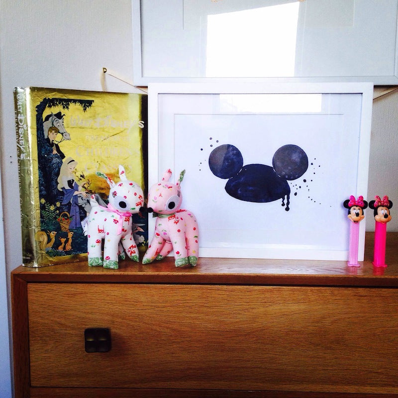 Mouse Ears A4 Print-BabyDonkie