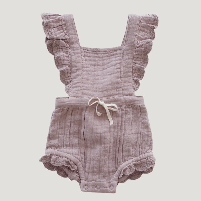Jamie Kay Organic Cotton Evie Playsuit - Bloom-Clothing-BabyDonkie