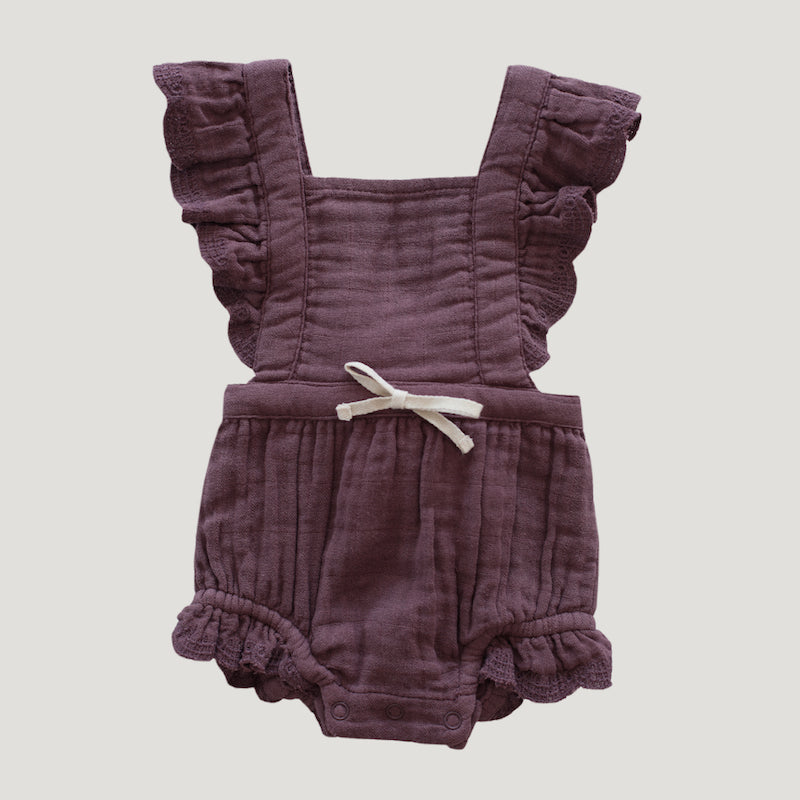 Jamie Kay Organic Cotton Evie Playsuit - Twilight-Clothing-BabyDonkie