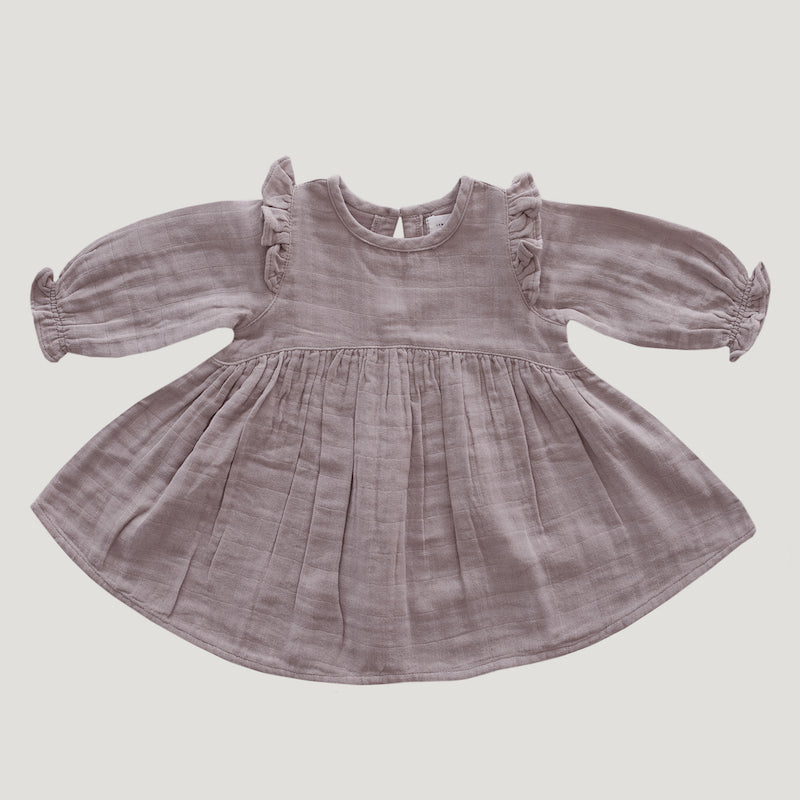 Jamie Kay Organic Cotton Frankie Dress - Bloom-Clothing-BabyDonkie