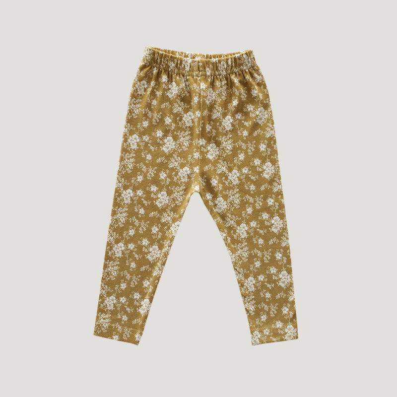 Jamie Kay Leggings - Golden Floral-Clothing-BabyDonkie