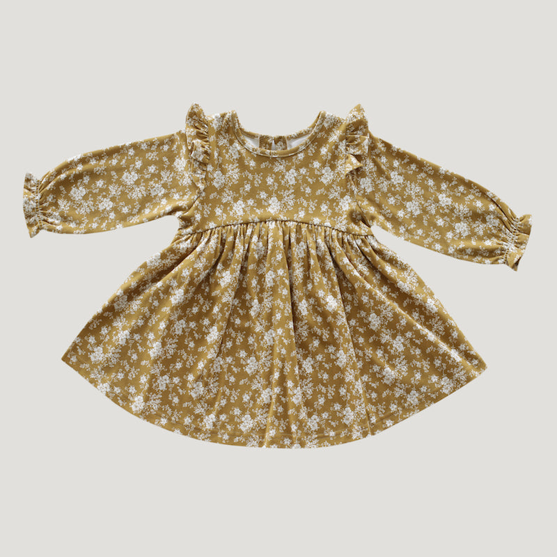 Jamie Kay Organic Cotton Dress - Golden Floral