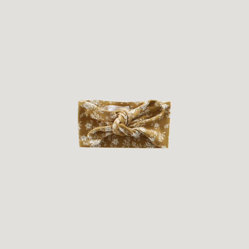 Jamie Kay Organic Cotton Headband - GoldenFloral-Accessories-BabyDonkie