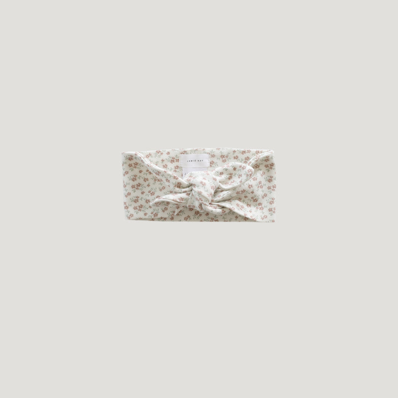Jamie Kay Organic Cotton Headband - Nostalgia Rose