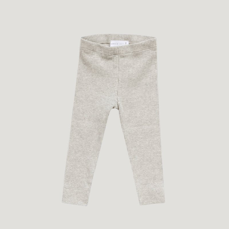 Jamie Kay - Cotton Modal Leggings - Oatmeal Marle-Clothing-BabyDonkie