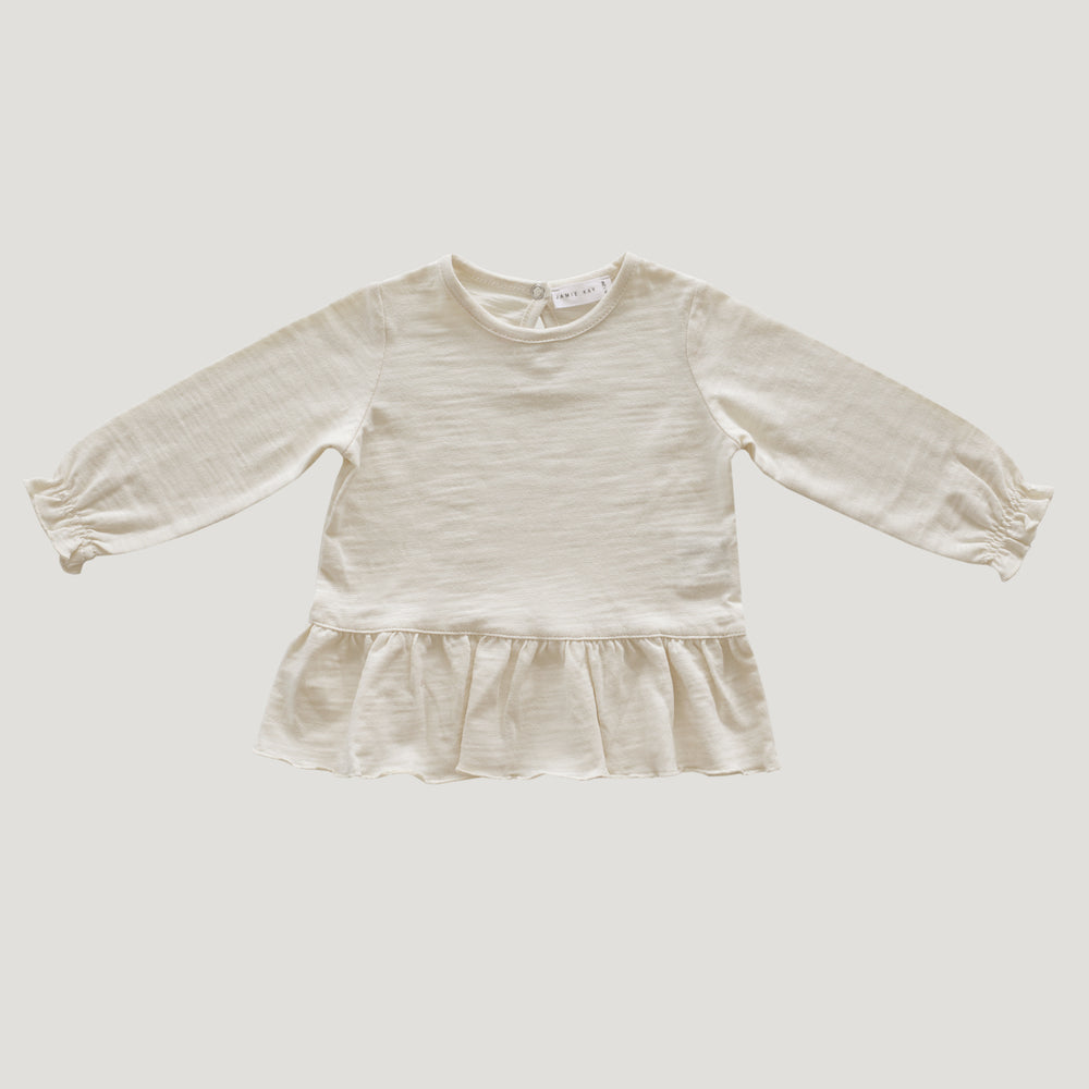 Jamie Kay Maple Organic Cotton Bailey Top - Cloud