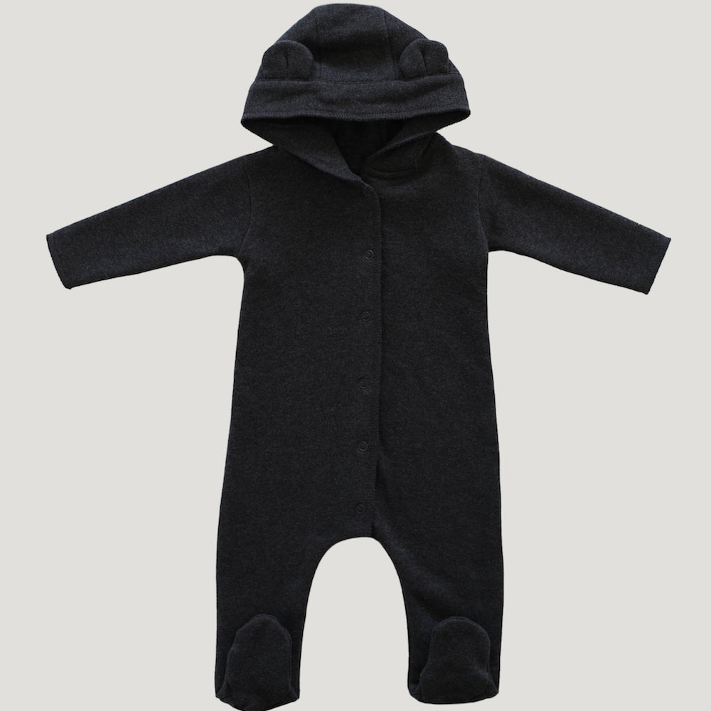 Jamie Kay Grace - Bear Suit - Dark Grey Marle-BabyDonkie