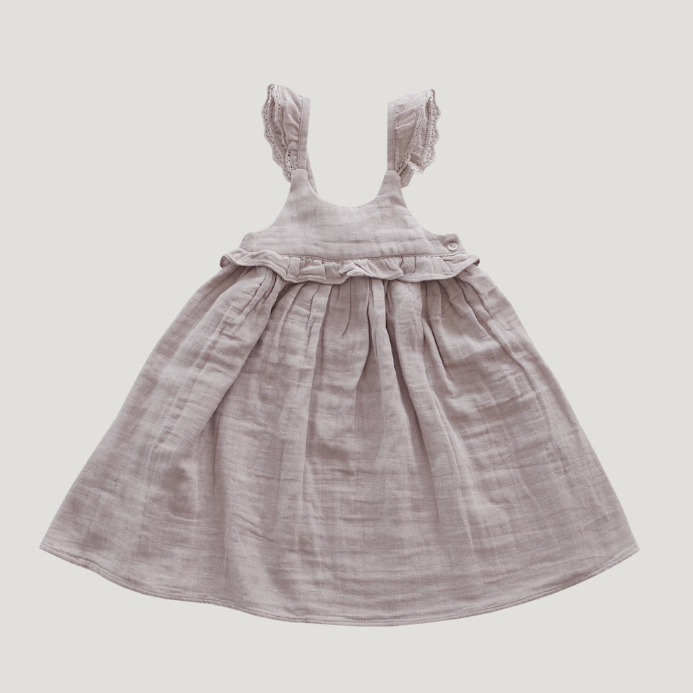 Jamie Kay Grace - Organic Cotton Lola Dress - Rosebud-Clothing-BabyDonkie