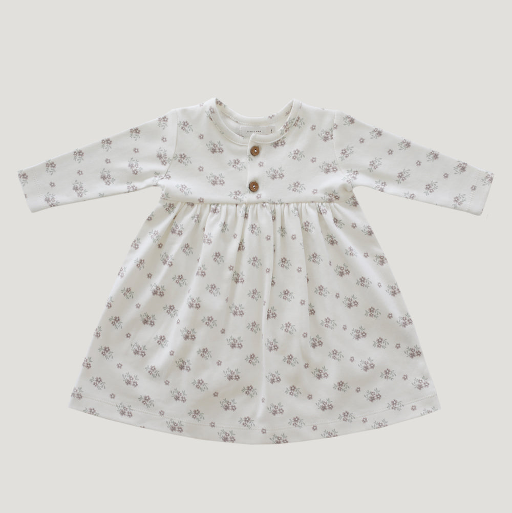 Jamie Kay Grace - Organic Cotton Dress - Rose Floral