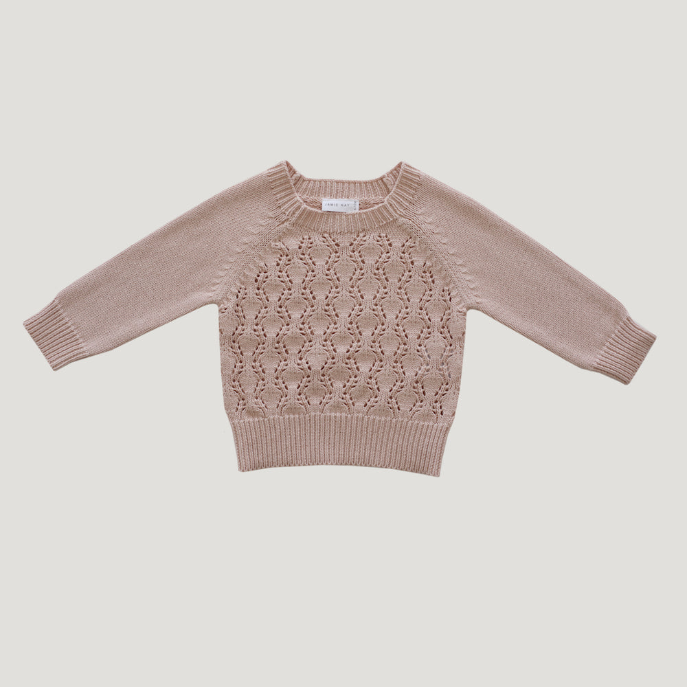 Jamie Kay Maple Marlie Knit - Petal-Clothing-BabyDonkie