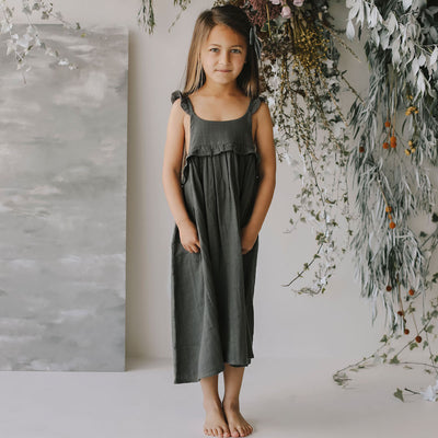 Jamie Kay Maple - Organic Cotton Lola Dress - Juniper-Clothing-BabyDonkie