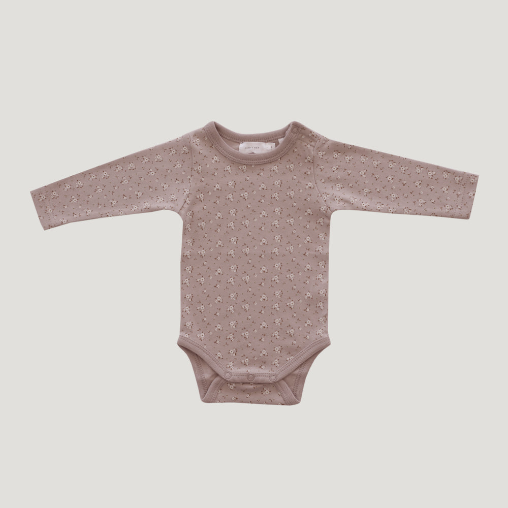 Jamie Kay Maple - Organic Cotton Bodysuit - Bloom Lulu Floral-Clothing-BabyDonkie