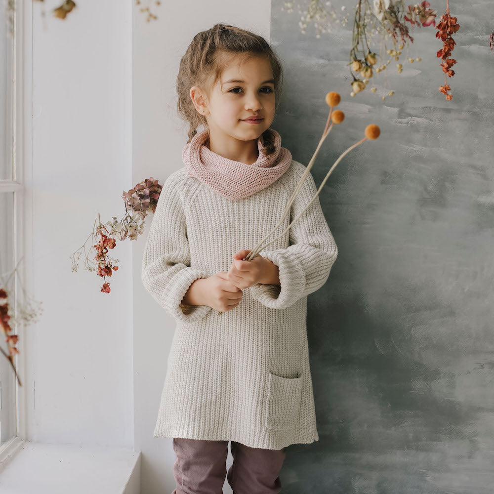 Jamie Kay Maple Riley Knit - Oatmeal Marle-Clothing-BabyDonkie
