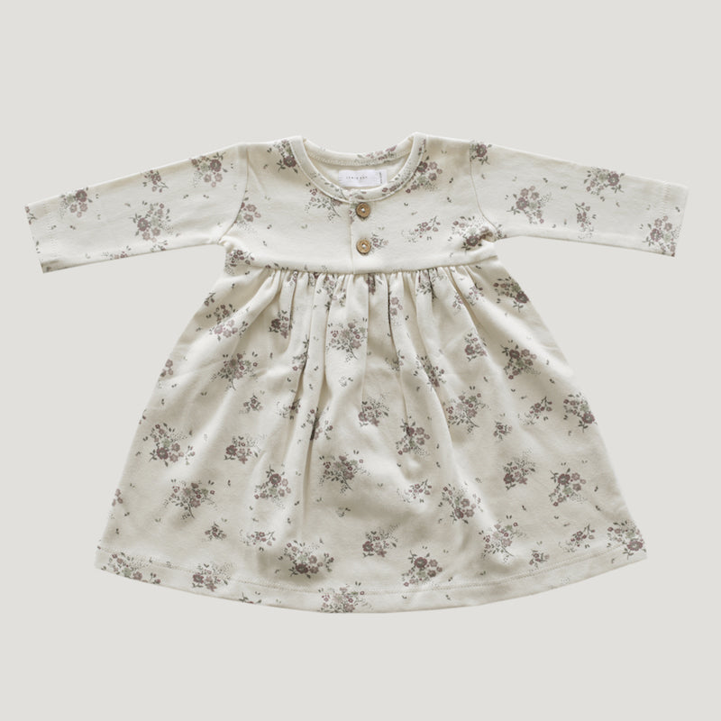 Jamie Kay Organic Cotton Dress - Forever Floral-Clothing-BabyDonkie