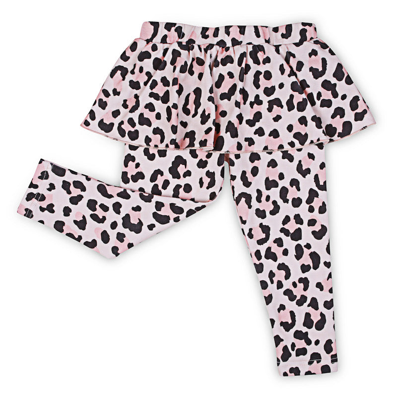 Kapow Kids Cheetah Skeggings-Clothing-BabyDonkie