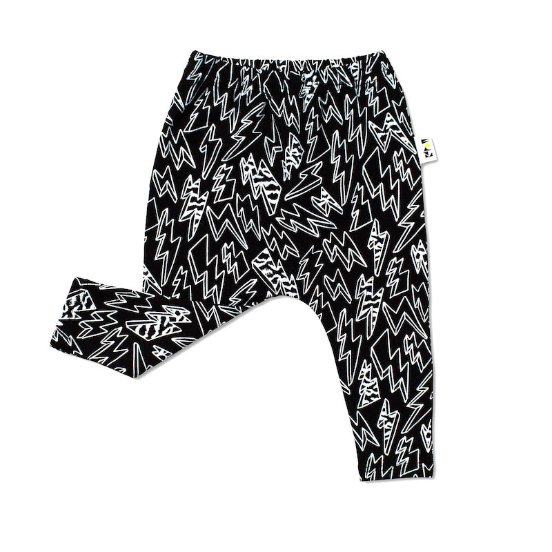 KaPow Kids Electric Harem Leggings-Clothing-BabyDonkie