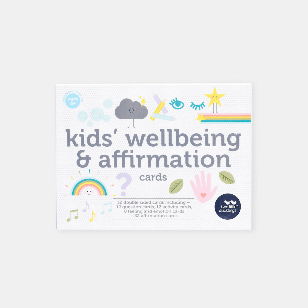 Two Little Ducklings Kids' Wellbeing and Affirmation Cards-BabyDonkie