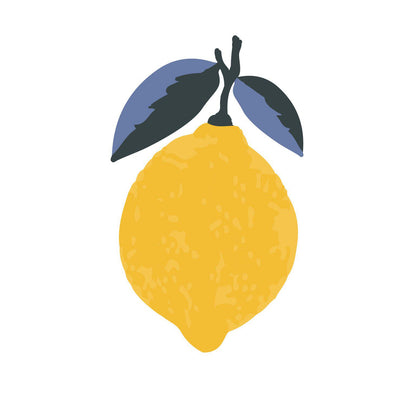 Lemon Squeezy - Oh So Easy! - Wall Decal by You Give Me Grace-Wall Decals-BabyDonkie