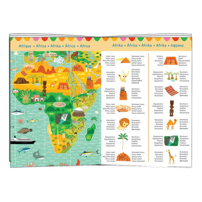 Djeco - Monuments Of the World 200pc Observation Puzzle-Puzzle-BabyDonkie