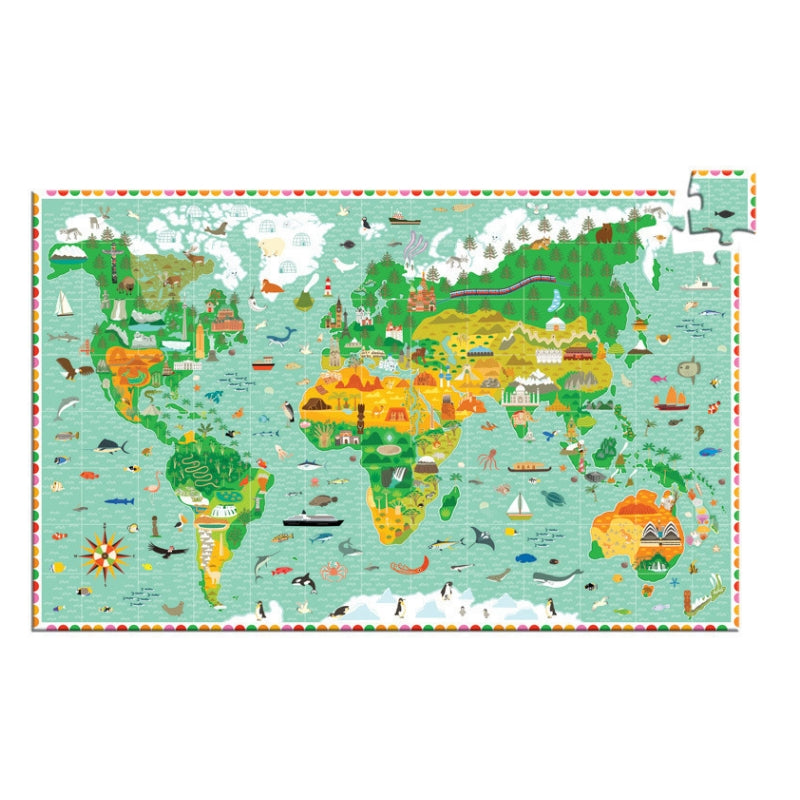 Djeco - Monuments Of World 200pc Observation Puzzle