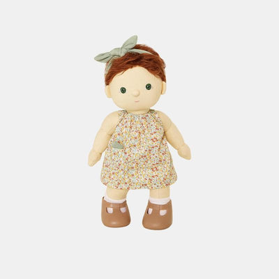 Olli Ella Dinkum Doll Una Dress Set-Doll-BabyDonkie