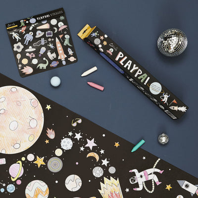 Olli Ella Playpa Stickers - Space-Book-BabyDonkie