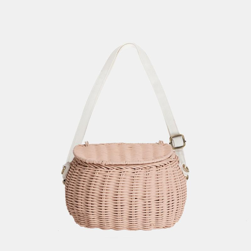 Olli Ella Minichari Bag - Rose
