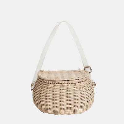 Olli Ella Minichari Bag - Straw-Storage-BabyDonkie